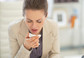 bigstock-Ill-Business-Woman-In-Office-64513816