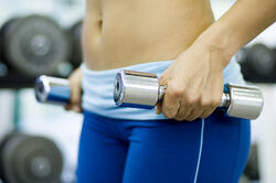 bigstock-Chrome-Dumbbells--243602