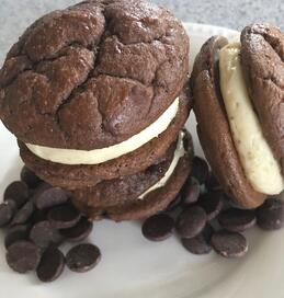 Try our decadent, yet protein-rich whoopie pies.