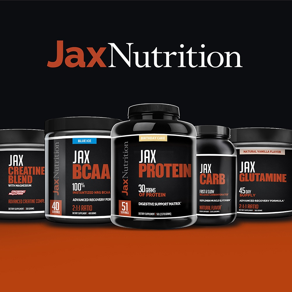 Check out the Jax Nutrition product line!