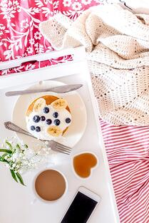 There are few things that feel as luxurious as breakfast in bed.
