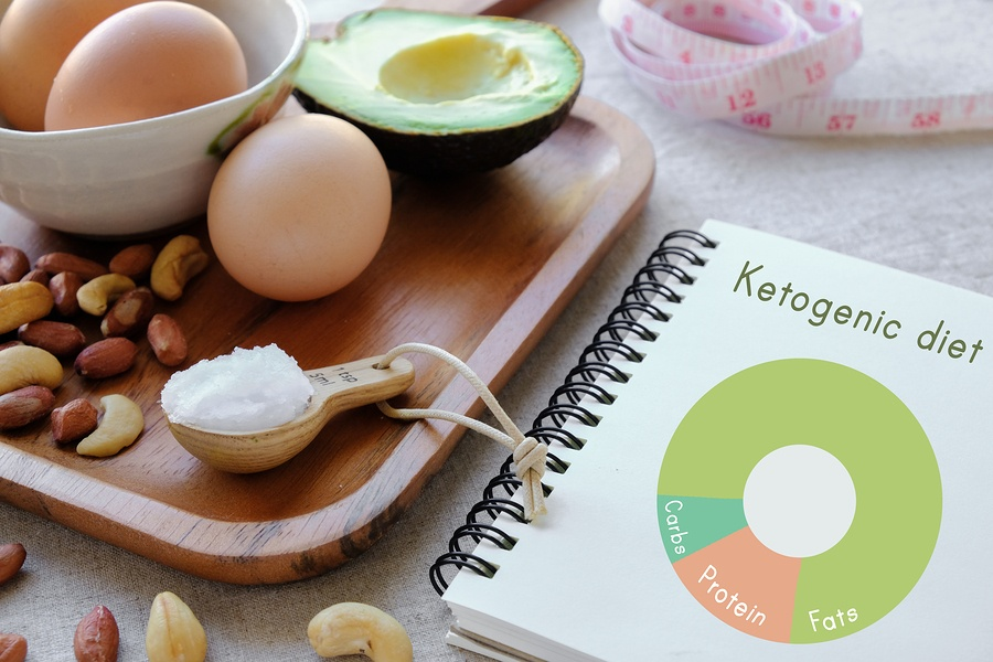 The ketogenic diet replaces burning carbs with fats for energy.